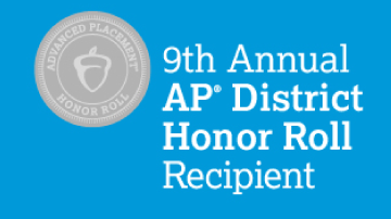 District AP Honor Roll logo