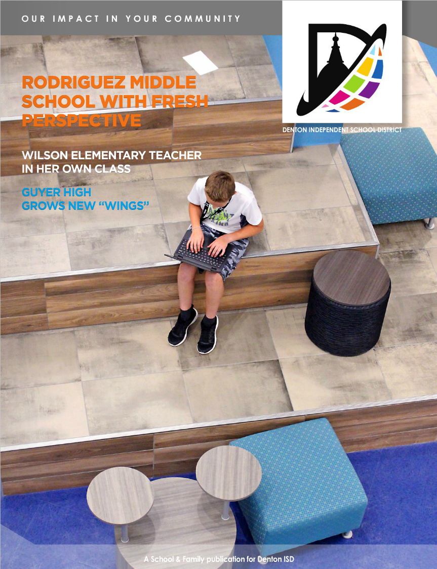 Denton ISD Magazine Cover