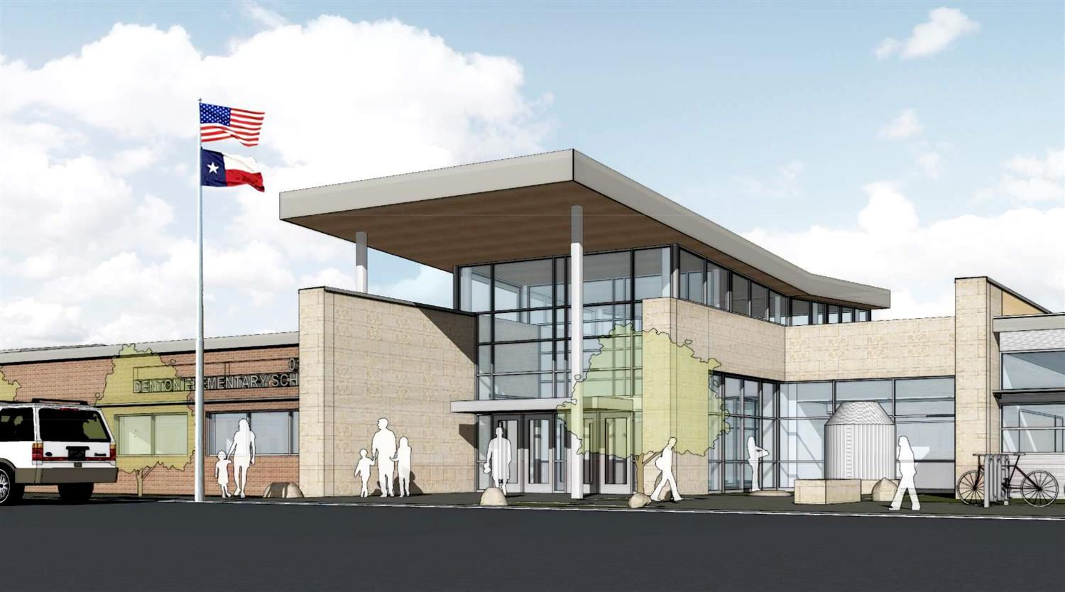 union park elementary rendering