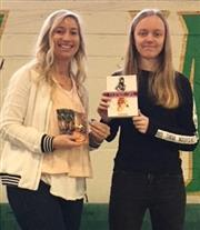 FMHS Student Wins Book Giveaway