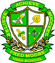 Fred Moore High School crest