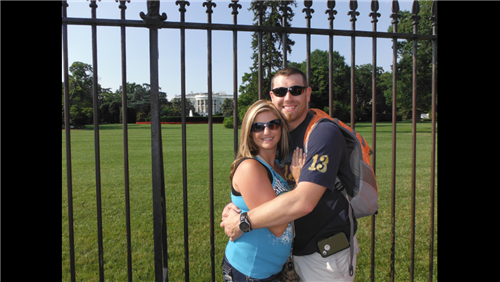 White House with Amy and Nate