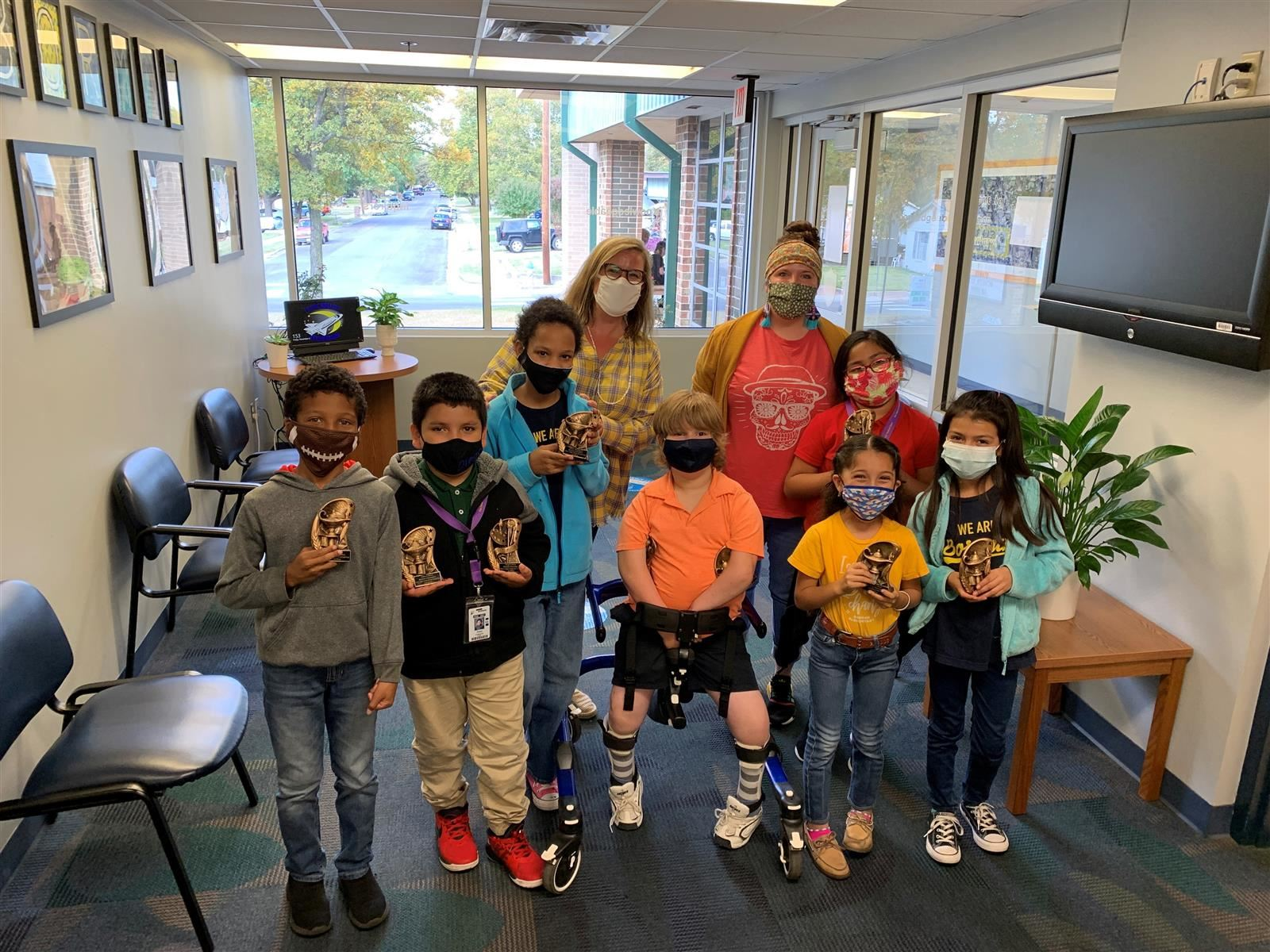 Borman Elementary: Adopt a School 2020     Click here for video