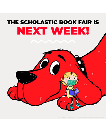 Scholastic BOGO Book Fair at Borman 4/19 -  4/27