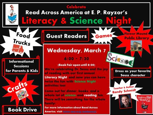 E P Rayzor Library Events Announcements