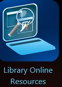 Library Online Resources Icon