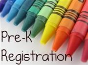 Pre-K Registration Going on Now