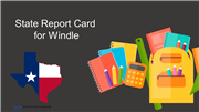 State of Texas Report Card for Ann Windle