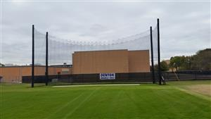 New Nets at Denton High for the DHS golf facility