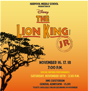 The Lion King Jr. Tickets Are On Sale!