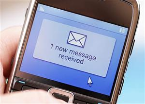 Sign up for school text message communication