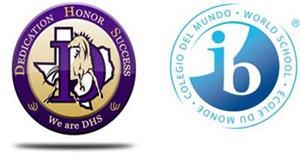 DHS Badge and IB Logo