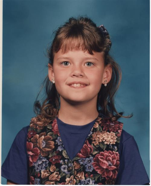 Ms. Avery in 3rd grade!