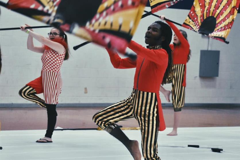Braswell Winterguards End Season with Success