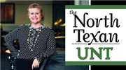 North Texan UNT features Mary Brown, p/c Michael Clements