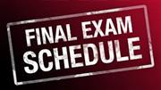 BMMS Fall Final Exam Schedule
