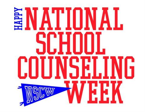 Happy National School Counselor Week.