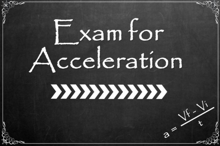 Exam for Acceleration