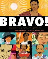 Book cover for Bravo! Poems About Amazing Hispani