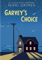 Book cover for Garvey's Choice