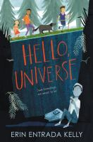 Book cover for Hello, Universe