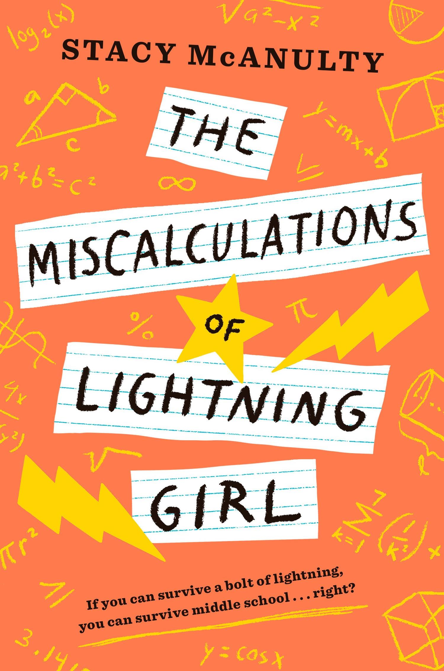 Cover image for Miscalculations of lighting girl