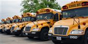 Denton ISD school buses