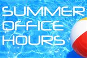 Braswell Summer Office Hours