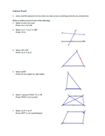 Worksheets Indirect Proof Worksheet With Answers noel jerome math indirect proof answers
