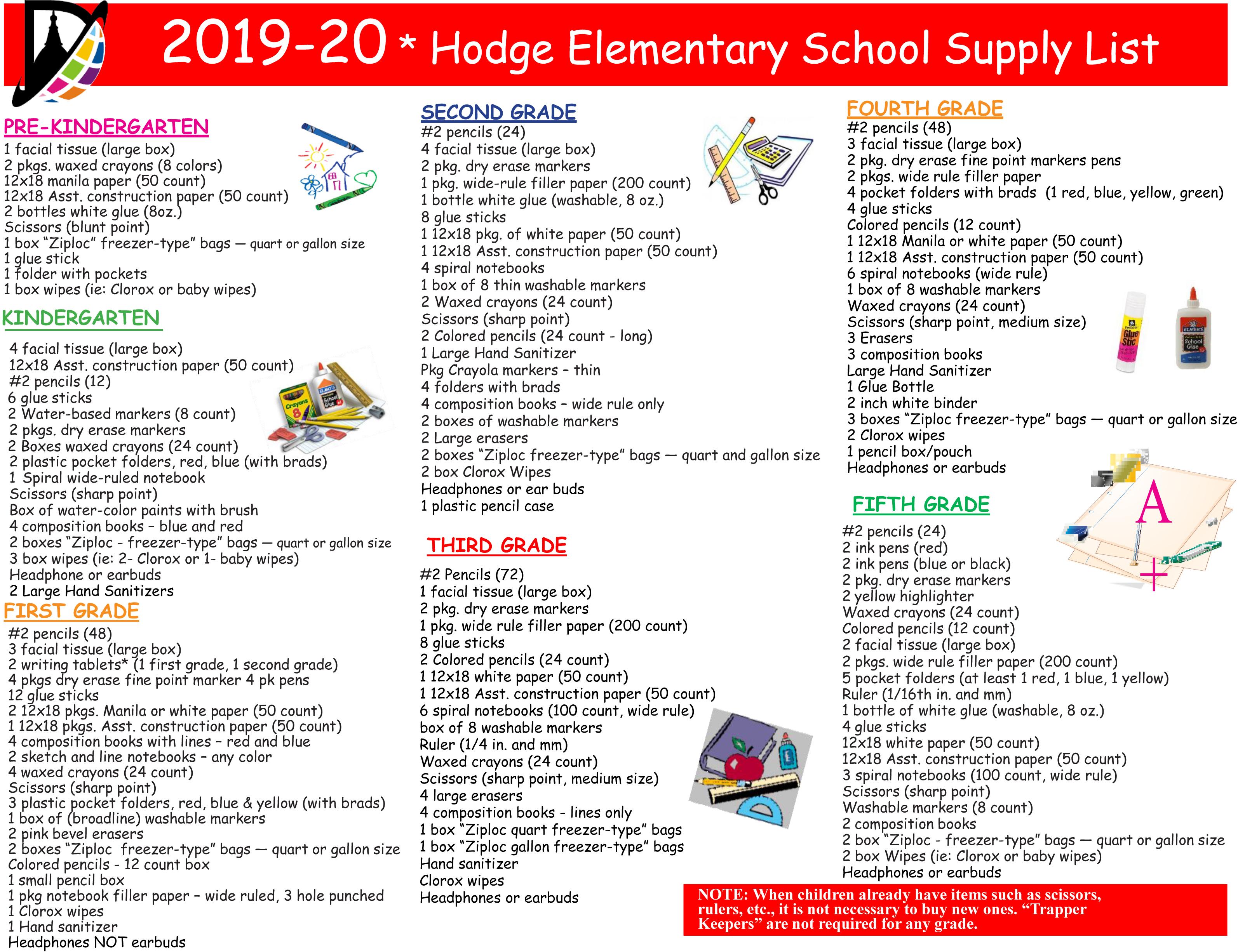Hodge Elementary School / Overview