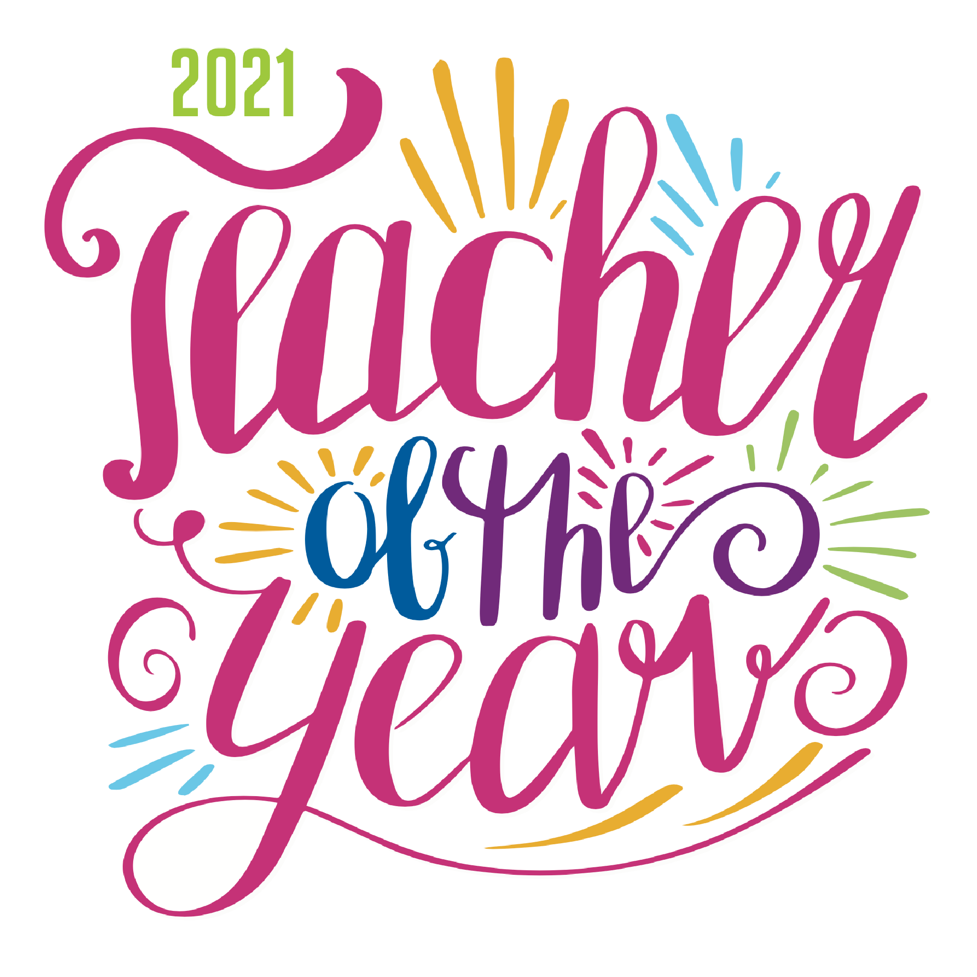 2021 Teacher of the Year Logo