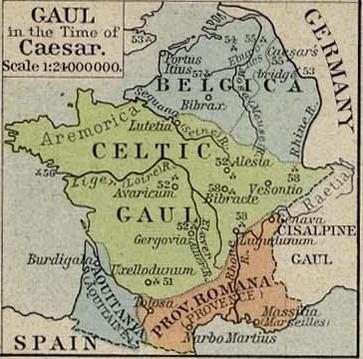 The Roman general Julius Caesar defeated the Celtic chieftain Vercingetorix in    bc to complete his  Overview of the Gallic Wars